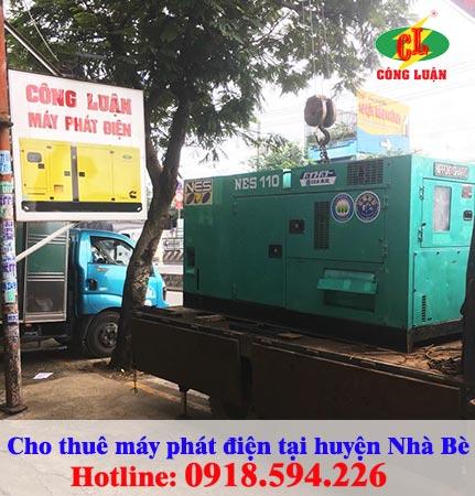 Cho thuê máy phát điện tại huyện Nhà Bè