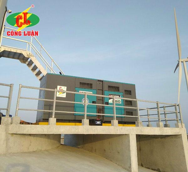 Cho thuê máy phát điện ngành năng lượng điện gió