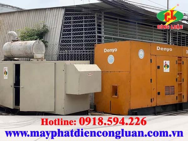 Thi công cho thuê máy phát điện tại huyện Bình Chánh